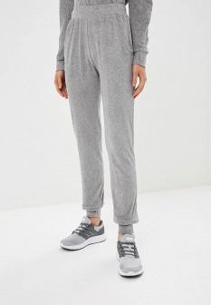 Женские серые осенние спортивные брюки