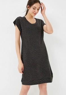 Черное осеннее платье Grishko