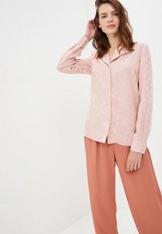 Розовая осенняя блузка Gregory