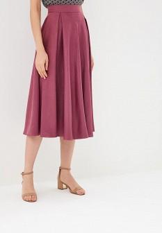 Бордовая осенняя юбка Gregory