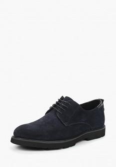 Мужские синие осенние туфли Guido Grozzi