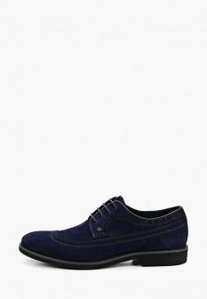 Мужские синие туфли Guido Grozzi