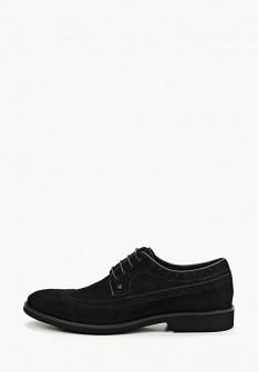 Мужские черные туфли Guido Grozzi