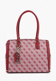 Женская красная осенняя сумка