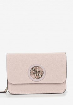 Женская розовая сумка GUESS