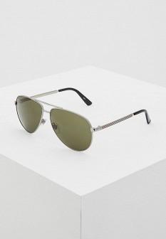 Мужские итальянские серебряные солнцезащитные очки