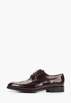 Мужские коричневые испанские кожаные туфли