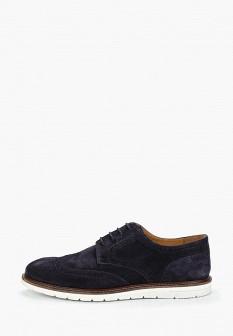 Мужские синие туфли MANGO MAN