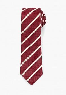 Мужской бордовый галстук MANGO MAN