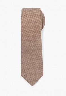 Мужской коричневый галстук MANGO MAN