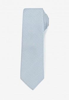 Мужской голубой галстук MANGO MAN