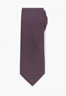 Мужской розовый осенний галстук