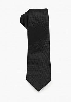 Мужской черный осенний галстук
