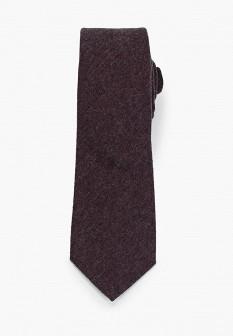 Мужской красный осенний галстук