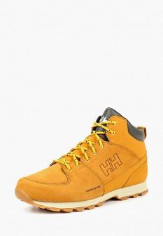 Мужские коричневые осенние ботинки из нубука