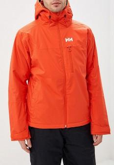 Мужская оранжевая осенняя куртка