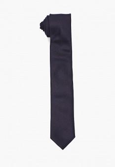 Мужской синий итальянский галстук