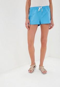 Женские голубые спортивные шорты