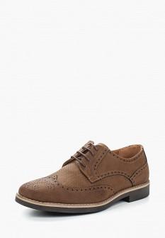 Мужские коричневые туфли Instreet