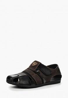 Мужские кожаные сандалии из нубука
