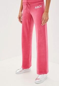 Женские розовые осенние спортивные брюки