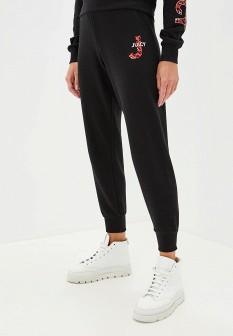 Женские оранжевые осенние брюки спорт