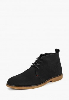 Мужские черные осенние ботинки