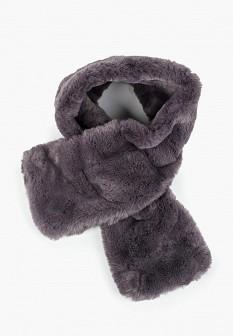 Женский серый осенний шарф KEDDO