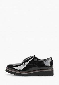 Женские черные испанские осенние кожаные ботинки