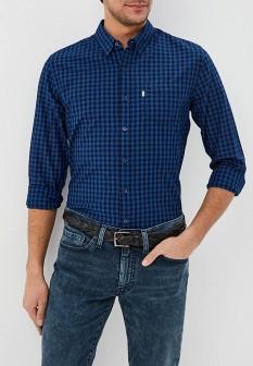 Мужская синяя рубашка Levi
