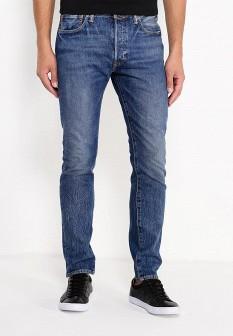 Мужские синие джинсы skinny Levi