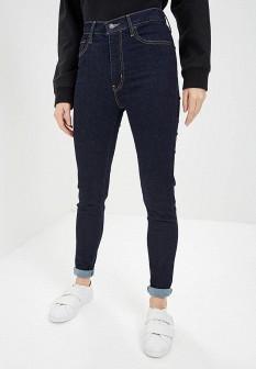 Женские синие джинсы skinny Levi