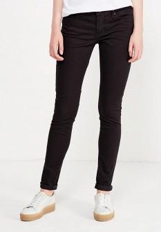 Женские черные осенние джинсы скинни