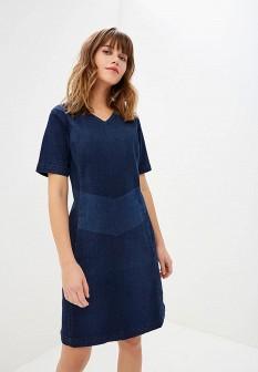 Синее осеннее платье LEE