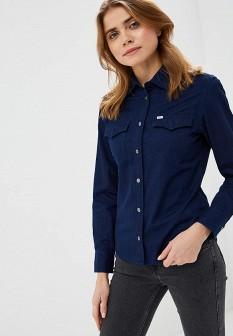 Женская синяя рубашка LEE