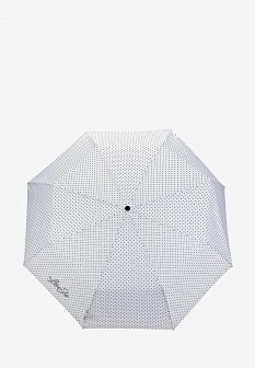 Женский белый складной зонт Liu Jo