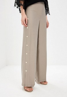 Женские бежевые итальянские брюки