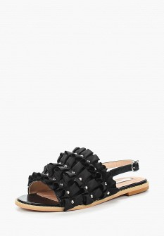 Женские черные сандалии LOST INK