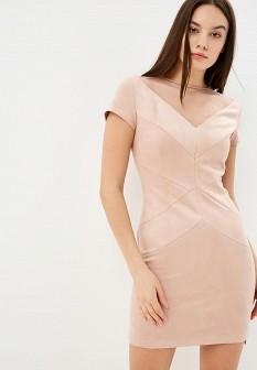 Бежевое платье Love Republic