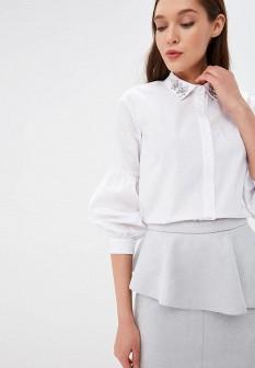 Женская белая рубашка Love Republic