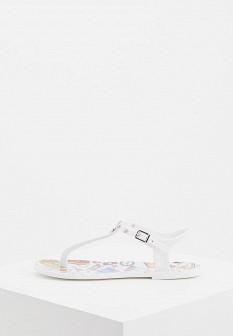 Женские белые итальянские сандалии