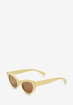 Женские желтые солнцезащитные очки