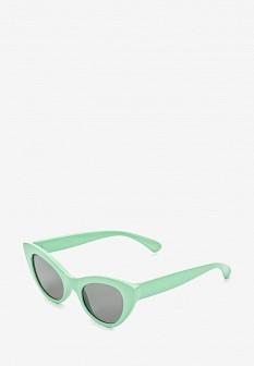Женские бирюзовые солнцезащитные очки