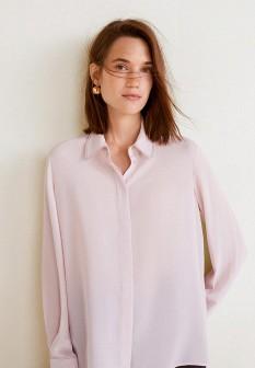Розовая блузка Mango