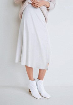Белая юбка Mango