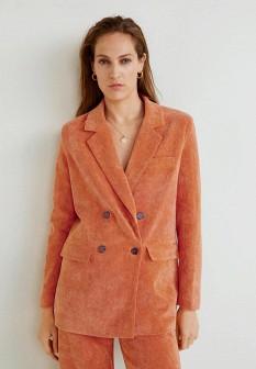 Женский оранжевый жакет Mango