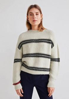 Женский бежевый свитер Mango