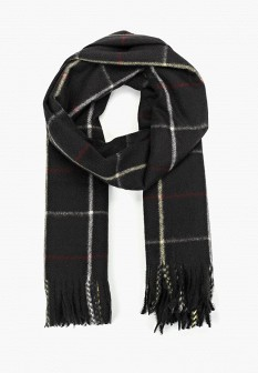 Женский черный осенний шарф Mango