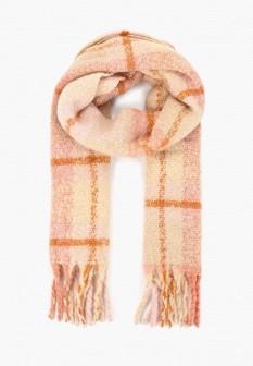 Женский розовый шарф Mango