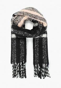 Женский серый шарф Mango